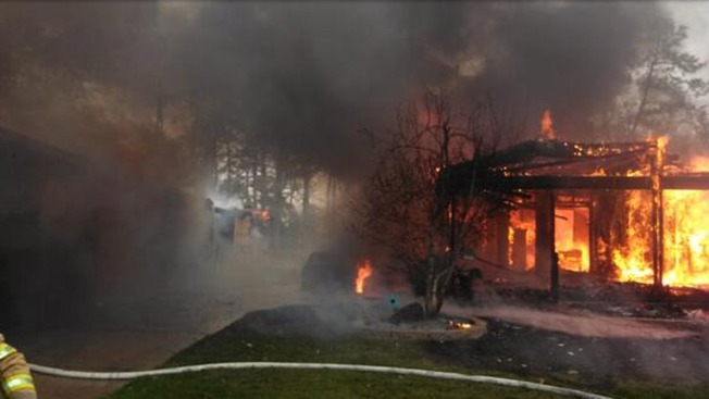 2 Homes, Shed, Car Destroyed by Fast-Moving Fire