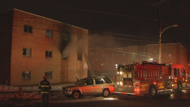 29 People Displaced After Apt. Fire