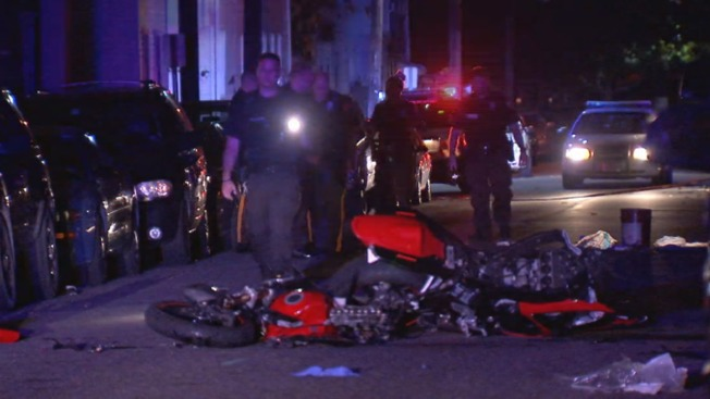 3 Hurt After Motorcyclist Crashes Into Teen