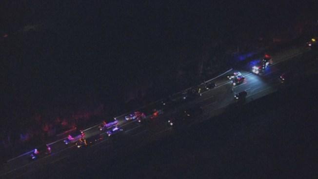 7 Hurt in Crash on NJ Turnpike in Mount Laurel - NBC 10