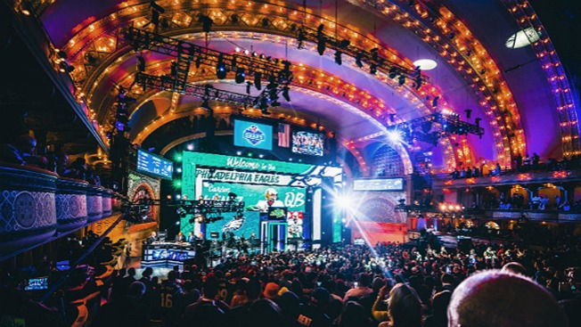 Philly Set to Welcome NFL Draft in Grand Way - NBC 10 Philadelphia ba44526bcde