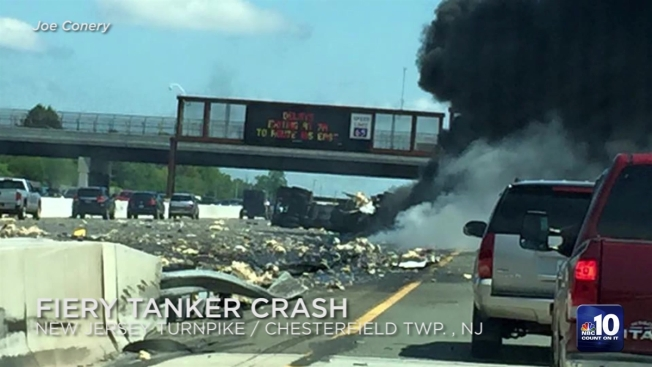 New Jersey Turnpike Exits 13 To 14 Northbound Truck – Dibujos Para