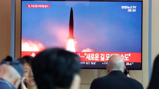 Kim Says North Korean Launches Were Warning to US, South