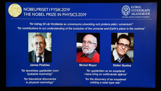 Princeton Professor, 2 Others Win Nobel Prize in Physics for Discoveries in Cosmology
