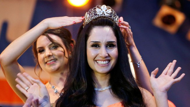 Syrian Refugee Ninorta Banho Crowned 'Wine Queen' in German Town