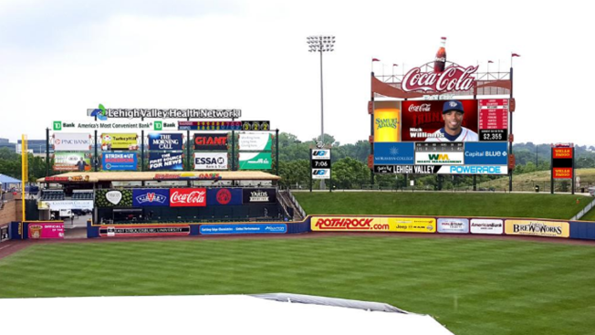 Phillies Affiliate Getting Largest Videoboard in Minor League Baseball