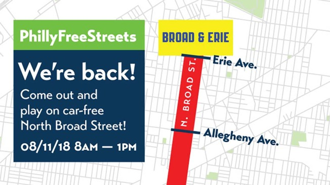 Philly Free Streets Returns for Third Year And It's Bigger Than Before
