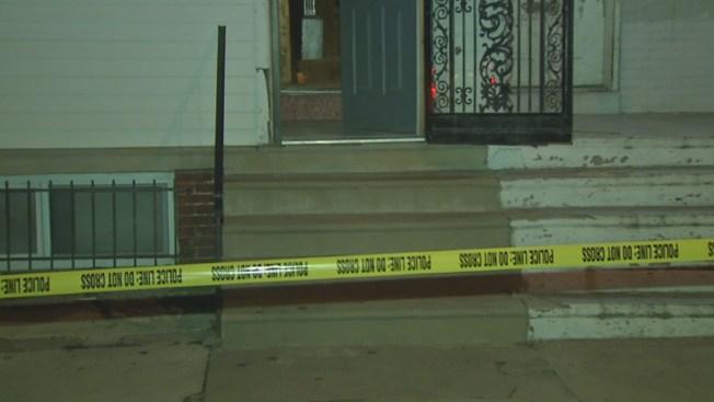 Man Shot While Sitting on Stoop