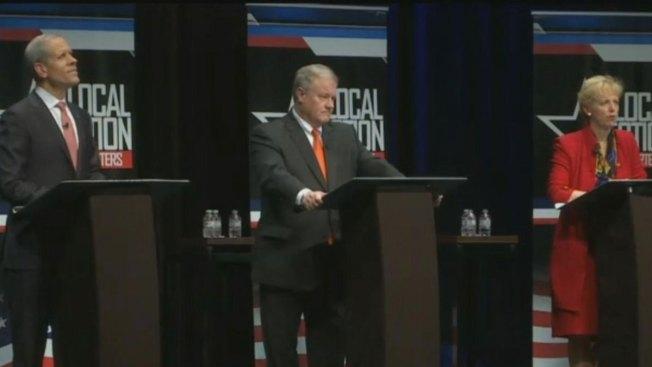 GOP Governor Hopefuls Clash in TV Debate Over TV Attack Ads