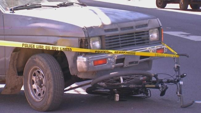 Bike Officer Struck by Pickup Truck