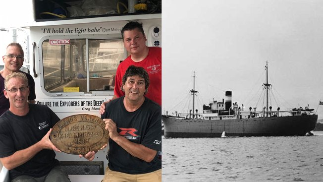 Newly Identified Shipwreck Solves 76-Year-Old Mystery