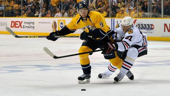2015 NHL Playoffs: Predators Storm Back to Beat Blackhawks, 5-2