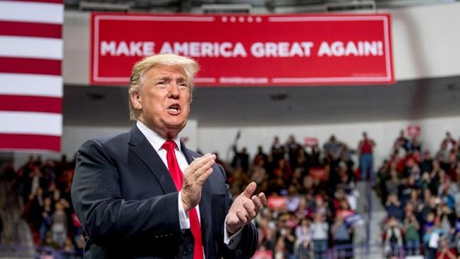 Trump Cheers Economy, Criticizes Democrats at Wis. Rally