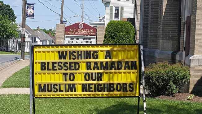 Pastor Says Church Sign on Ramadan Sparked Angry Call and Posting