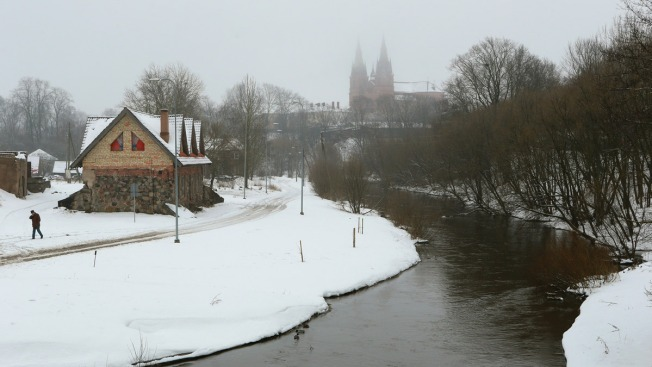 Latvian Town Frets About Trump's Stance on NATO, Russia