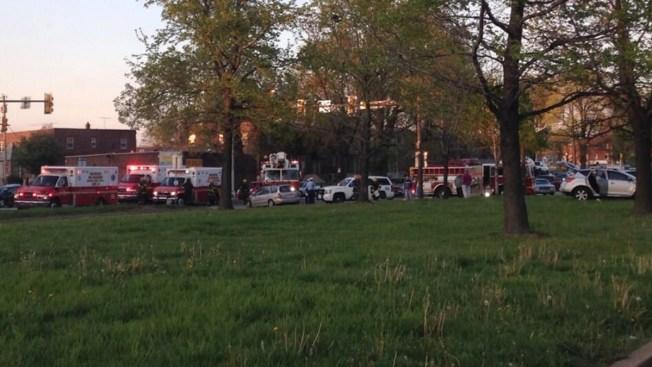 6 Hurt in Multi-Vehicle Crash on Boulevard