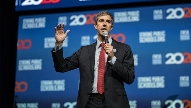 Beto O'Rourke Pushes Student Loan Forgiveness for Public School Teachers