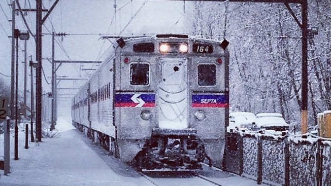 'No Normal Winter Storm' Suspends SEPTA Service for 24 Hours Beginning Early Saturday