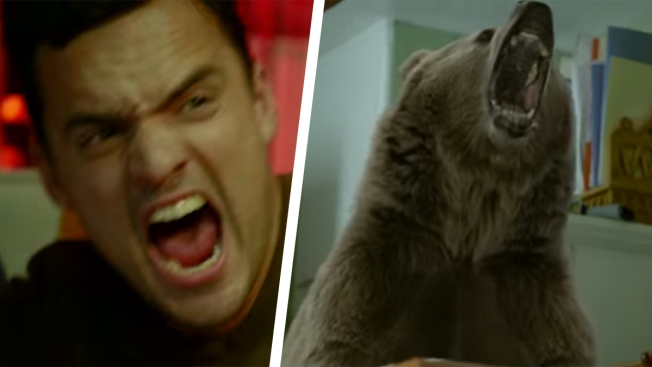 'New Girl' Stars Face Off With Bear in CollegeHumor PSA