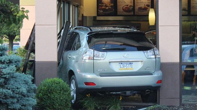 Woman Hurt After SUV Slams Into Boston Market