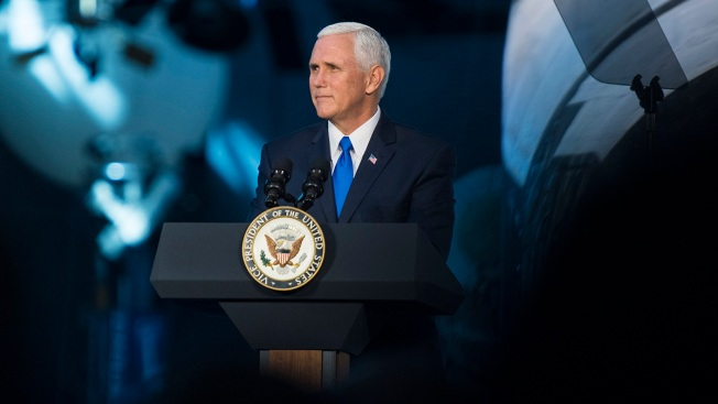 Dozens Protest VP Mike Pence at Taylor University Commencement With Walkout