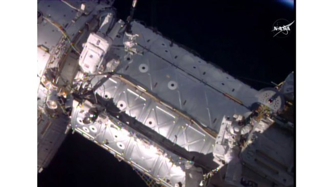 US Astronauts Jeff Williams, Kate Rubins Spacewalk to Install New Docking Port