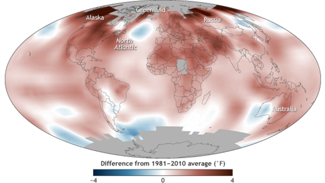 Glenn's Blog: State of the Climate - 2016
