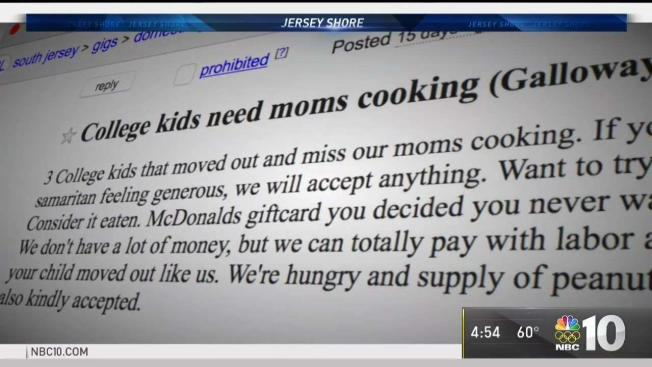 Stockton Students Plea For Home Cooked Meals Gets A Surprising