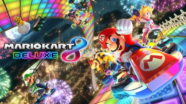 'Mario Kart 8 Deluxe' Added to Nintendo Switch Lineup