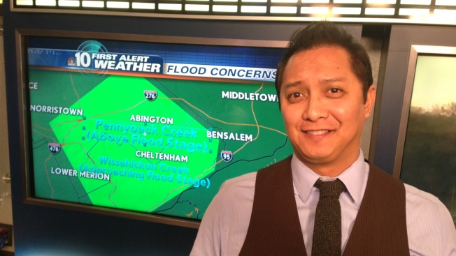 NBC10 First Alert Weather Google Hangout With Tedd Florendo