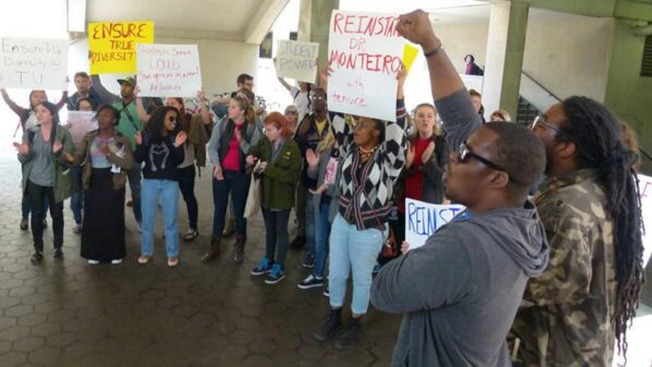 Temple Students Demand Reinstatement of Professor, Firing of Dean