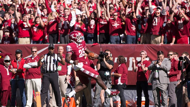 At No. 22, Temple Football Ranked for 1st Time in 36 Years