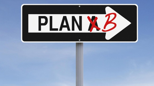 If You Don't Have a Plan B, You Don't Have a Plan