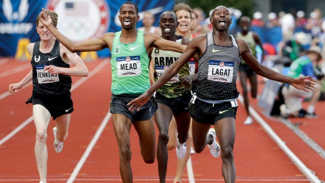 US Olympic Track and Field Trials: Lagat Wins 5,000-Meter Final