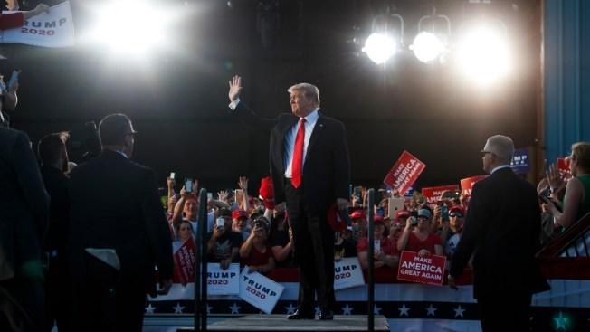 In Pennsylvania, President Donald Trump Touts 2020 Chances, Swipes at Democratic Former Vice President Joe Biden