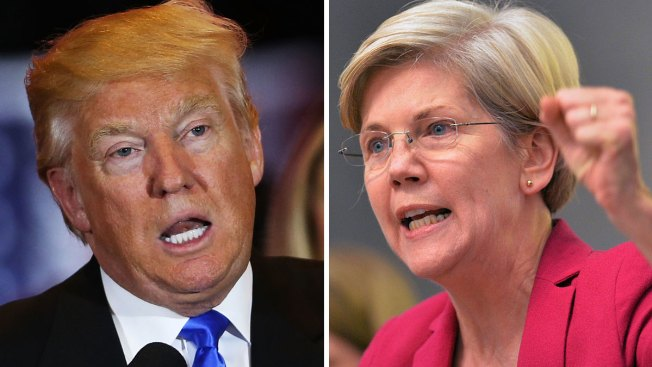 President Trump Lashes Out at Warren, Calls Her an 'Overrated Voice'