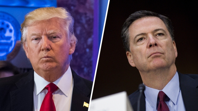 FBI Director James Comey Talks Russian Meddling, Trump Tower With Lawmakers