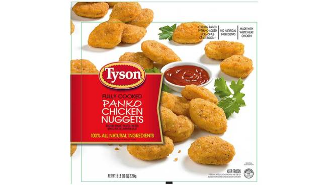 Tyson Recalls Chicken Nugget Packages Over Reports of Plastic Contamination