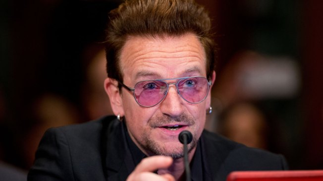 U2's Bono Urges Lawmakers to View Aid as National Security