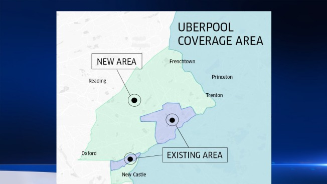 UberPool Expands Coverage in Preparation for SEPTA Strike