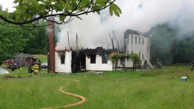 Lightning Blamed for Fire That Destroyed New Jersey Farmhouse