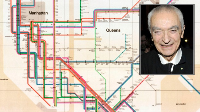 Massimo Vignelli, Subway Map Designer, Dies at 83