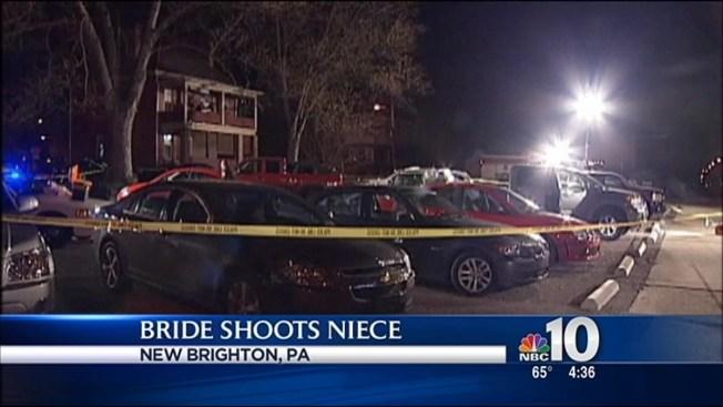 Shooting accident wedding