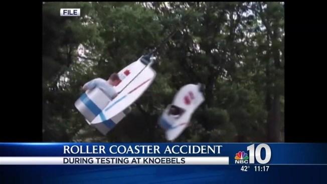 Worker Struck Injured While Testing Knoebels Roller