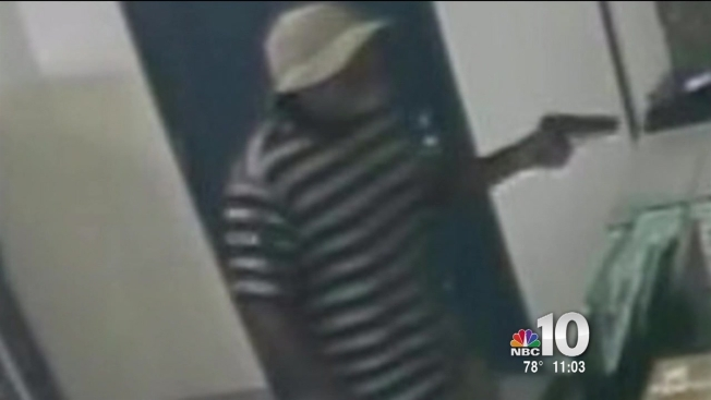 Man in Bucket Hat Calmly Points Gun at Postal Worker 314cfe9d65b
