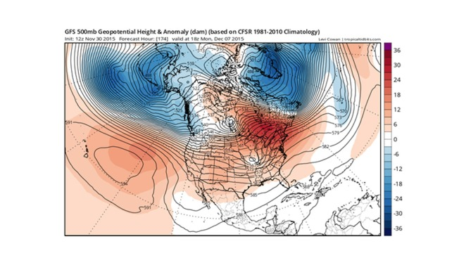 Glenn's Blog: Will the Unseasonable Warmth Continue in December?