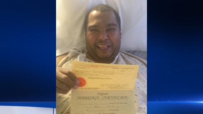 Hospital-Bound Man Gets His Happily Ever After