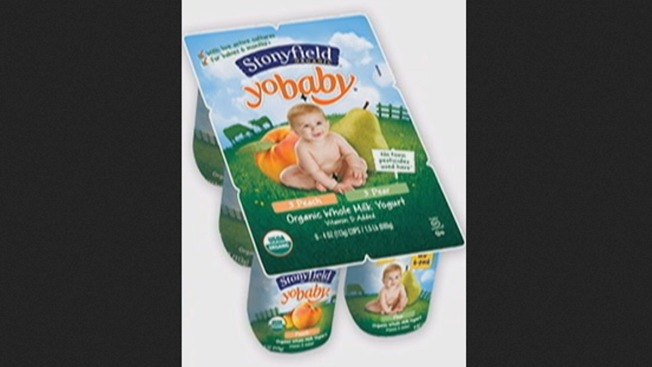 Stonyfield Recalls Some YoBaby Cups