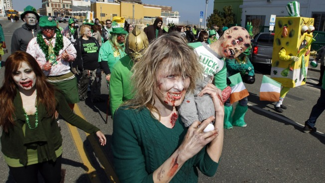 Jersey Shore Zombie Walk, Brought Back From Dead, Draws Thousands