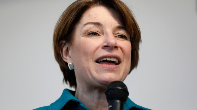 2020 Hopeful Amy Klobuchar Pitches $1 Trillion Infrastructure Plan